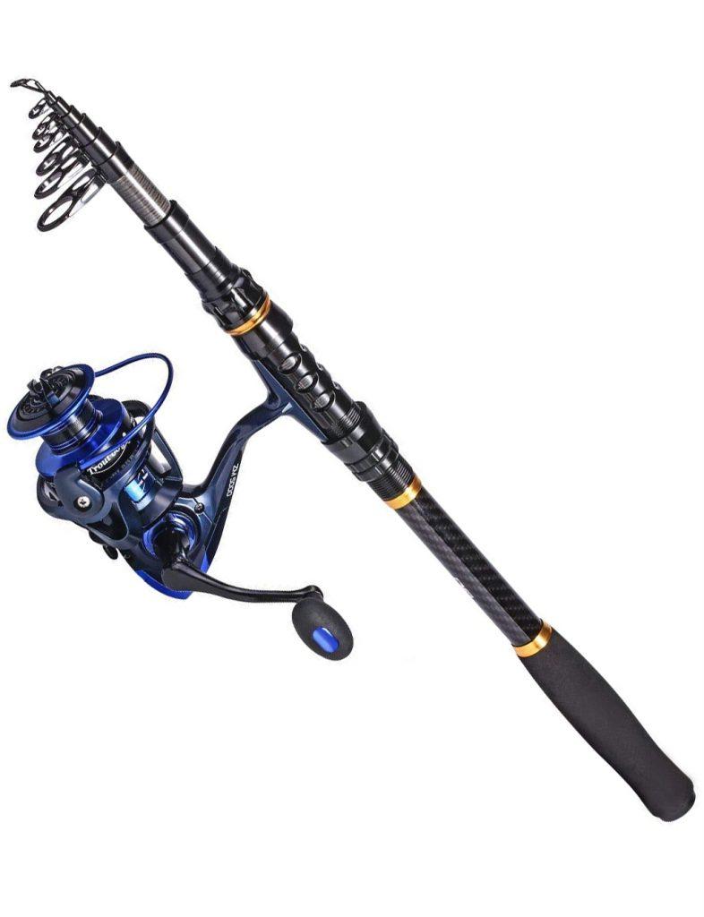 TROUTBOY Black Warrior Tele Rod
