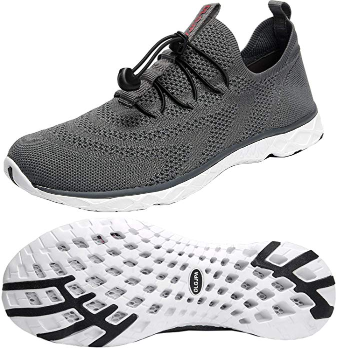 DLGJPA Men's Lightweight Quick Drying Shoes