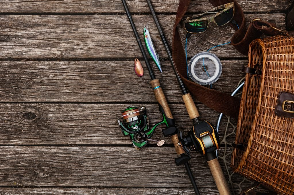 picture of fishing rods