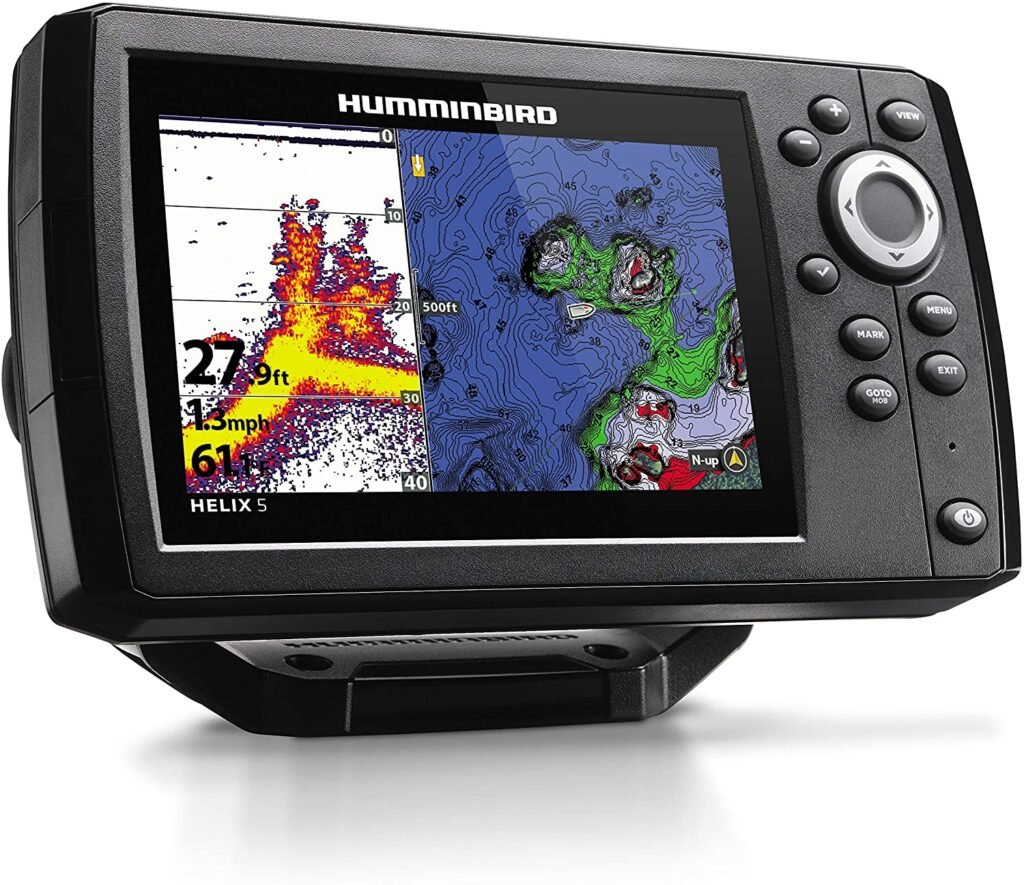 Hummingbird Helix 5 kayak fish finder