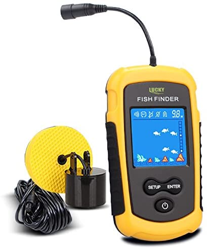LUCKY Portable Fishing Kayak Fishfinder