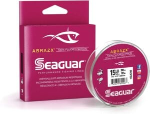 Seaguar Abrazx 100% Fluorocarbon 200 Yard Fishing Line
