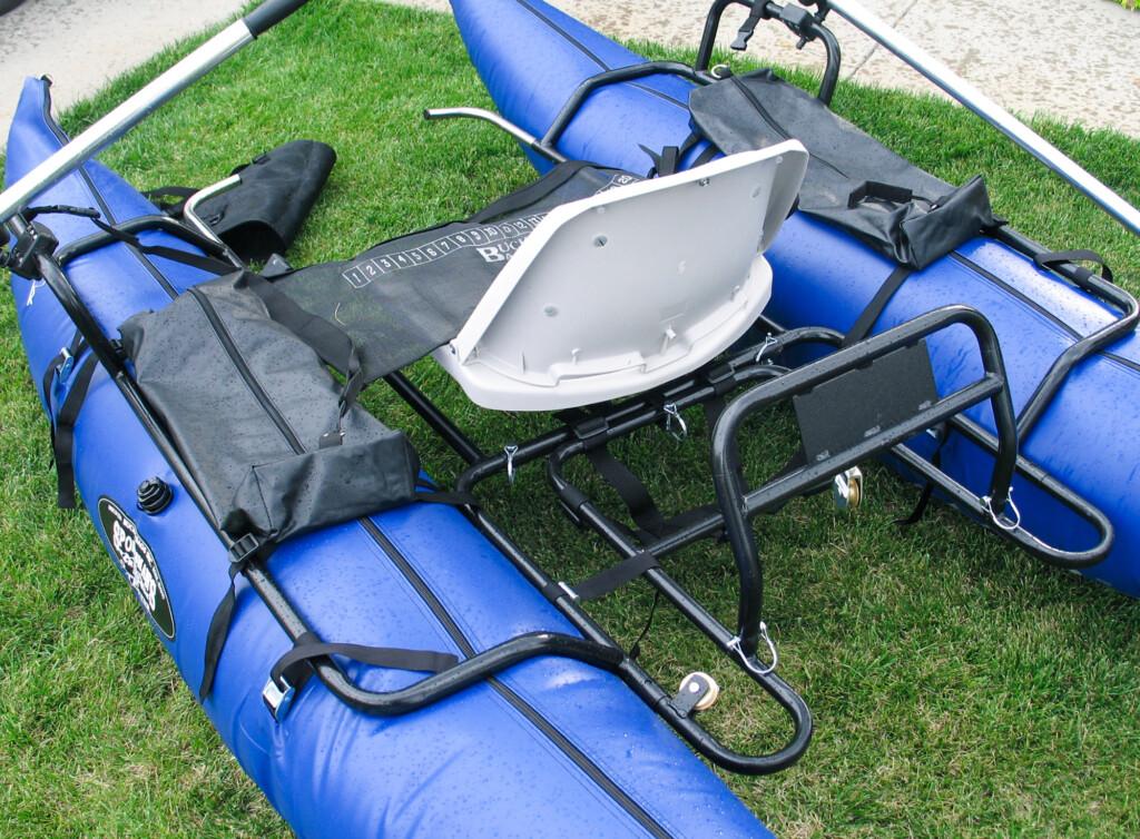 inflatable fishing pontoon