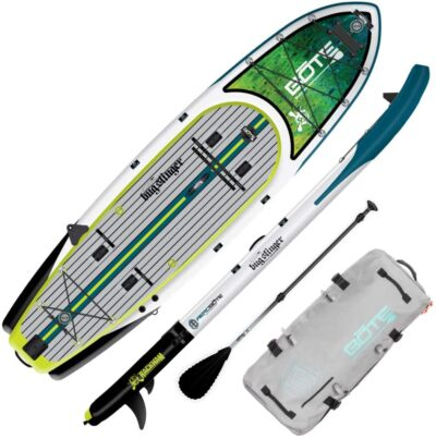 BOTE Rackham Aero Inflatable Stand Up Paddle Board for Fishing