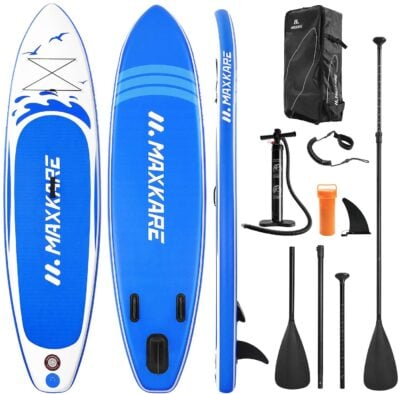 MaxKare Stand Up Paddle Board Inflatable SUP