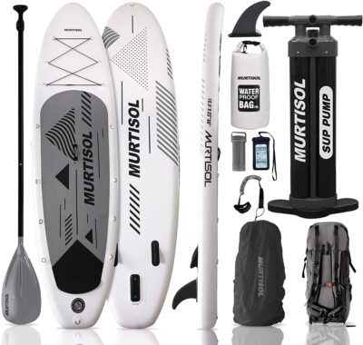 """Murtisol Pro 10.5'33""""6"""" Inflatable Paddle Board Stand Up Paddle Board with Premium Accessories"""