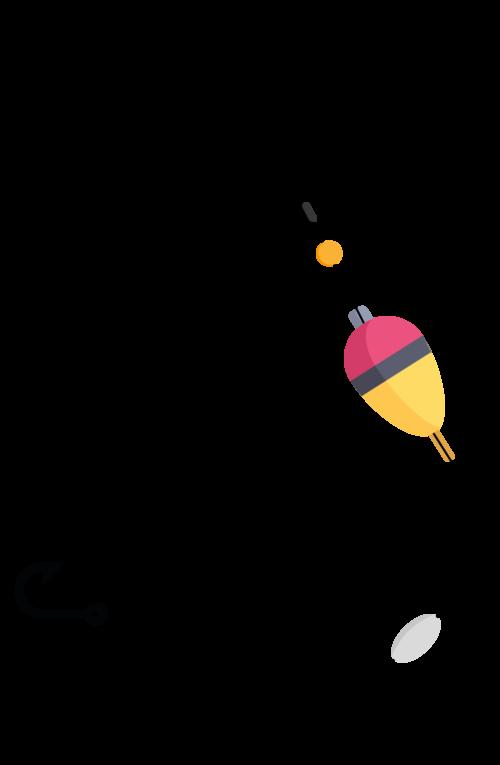 Slip Bobber Rig illustration