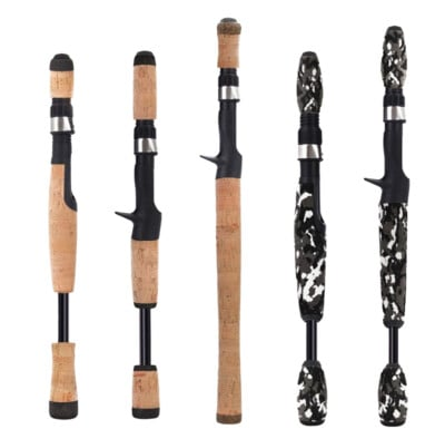 various fishing rod handle types
